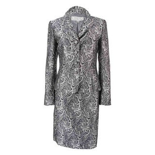 Tahari Women's Printed Skirt Suit
