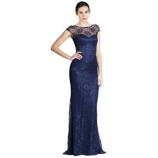 Theia Sweetheart Neckline Fluid Lace Mermaid Gown Dress - 14