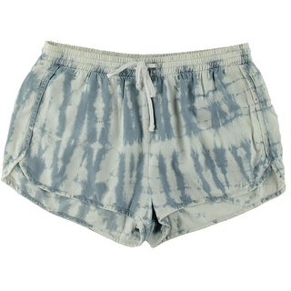 Bella Dahl Womens Tie-Dye Drawstring Casual Shorts - L