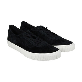 HUF Essex Mens Black Textile Lace Up Sneakers Shoes