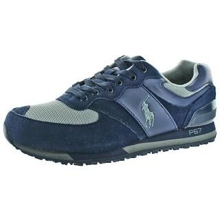 Polo Ralph Lauren Slaton Men's Fashion Sneakers Shoes