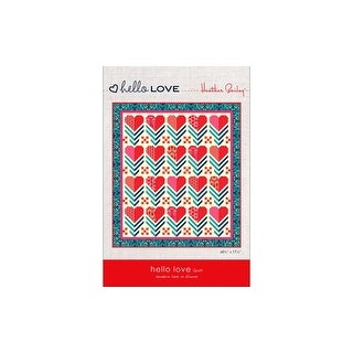 Link to Heather Bailey Hello Love Quilt Ptrn Similar Items in Notions