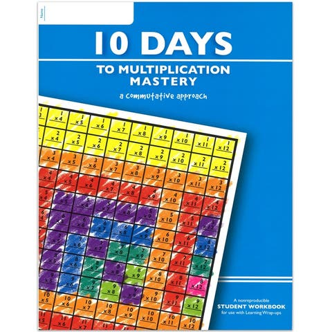 (6 Ea) 10 Days To Multiplication Mastery Student Workbook