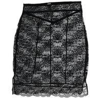 Rene Rofe Women's Allover Lace Half Slip