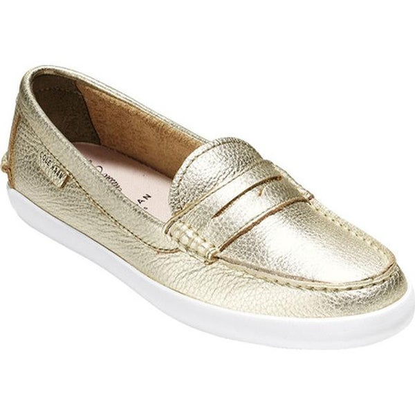 32b68dd140b3 Cole Haan Women  x27 s Pinch Weekender Loafer Soft Gold Metallic Leather