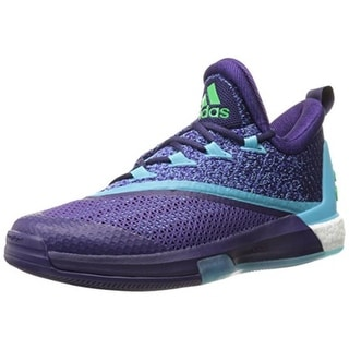 Adidas Mens Crazylight Boost 2.5 Mesh Glow In Dark Basketball Shoes - 11 medium (d)