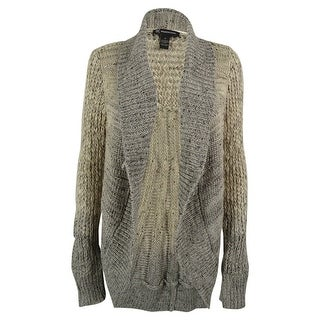 INC International Concepts Women's Open Front Wool Blend Cardigan ...