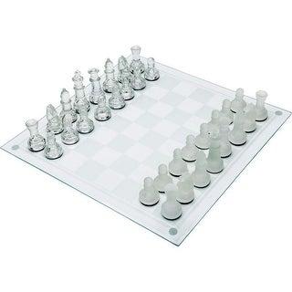 Maxam 33pc Glass Chess Set