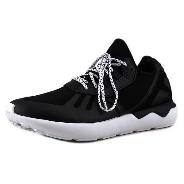 Adidas Tubular Runner K Men  Round Toe Synthetic Black Running Shoe