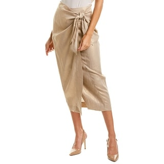 Link to Donna Karan Linen Wrap Midi Skirt Similar Items in Suits & Suit Separates