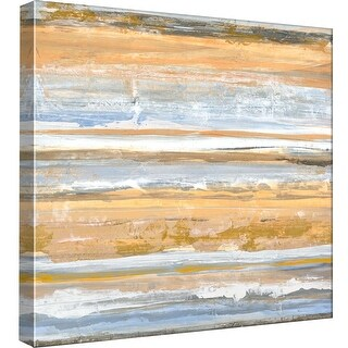 "PTM Images 9-97887  PTM Canvas Collection 12"" x 12"" - ""Banded 2"" Giclee Abstract Art Print on Canvas"