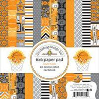 "Slam Dunk - Doodlebug Double-Sided Paper Pad 6""X6"" 24/Pkg"