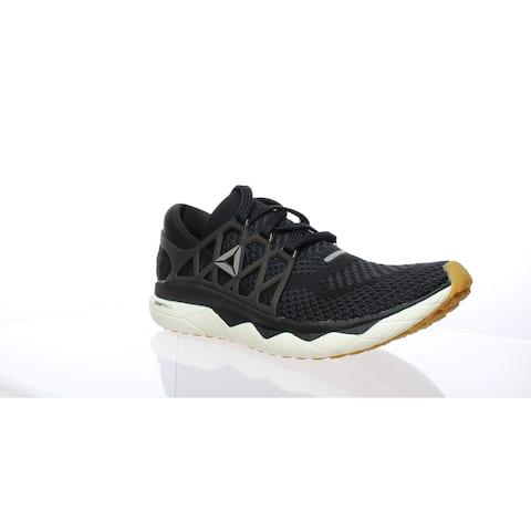Reebok Womens Floatride Run Ultraknit Black Running Shoes Size 7.5