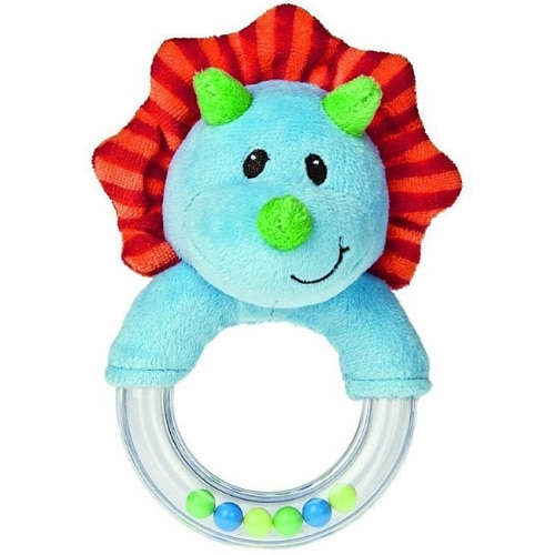 Mary Meyer Okey Dokey Dino Ring Rattle Ring Rattle Toy