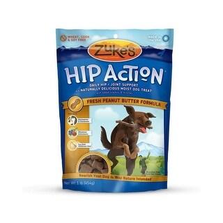 Zuke's Hip Action Treats with Glucosamine Peanut Butter 1 lbs.