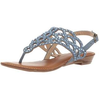 af8a25c292e Buy Flat, Strappy Women's Sandals Online at Overstock   Our Best ...