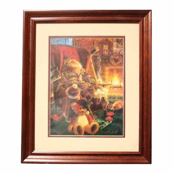 Framed Print Toasty Warm Cherry Wood Frame 15.5 x 18.5 | Renovator's Supply