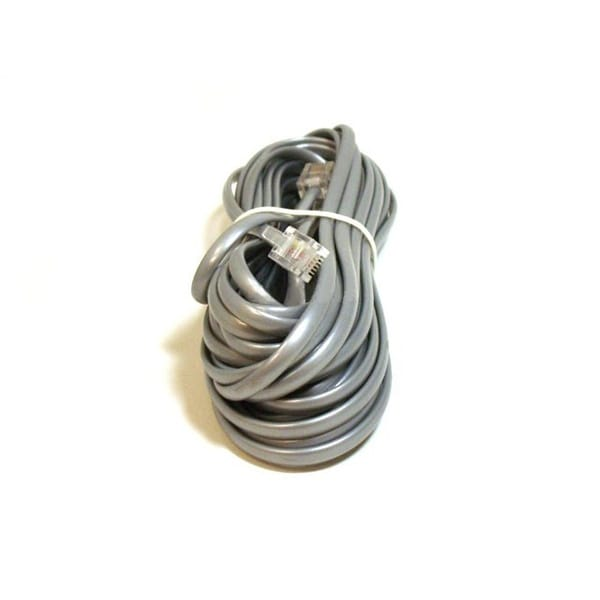 Monoprice Phone Cable, RJ11 (6P4C), Reverse - 25ft for voice