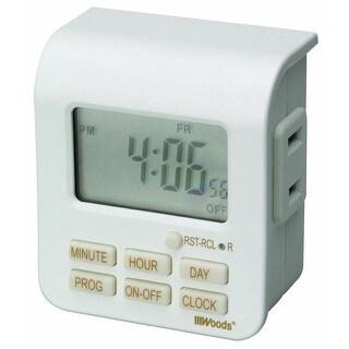 Coleman Cable 50008AC Indoor 7 Day Digital Timer, 125 Volt