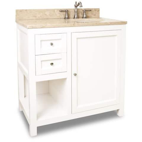 Jeffrey Alexander Van091 36 T Astoria Modern Collection Inch Bathroom Vanity Cabinet