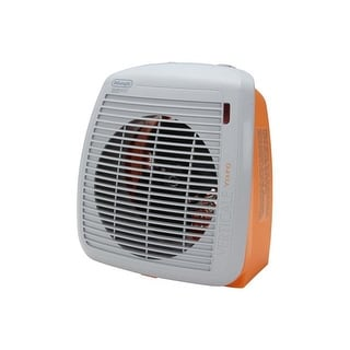 DeLonghi HVY1030OR 1500-Watt Fan Heater - Orange - orange/gray