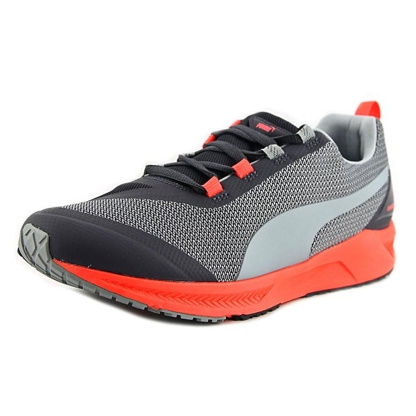 Puma Ignite Xt Wn's Round Toe Synthetic Gray Running Shoe Grey For Women