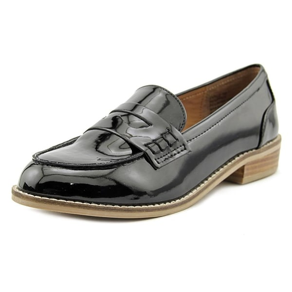 Steve Madden Cyylo Women Round Toe Synthetic Black Loafer