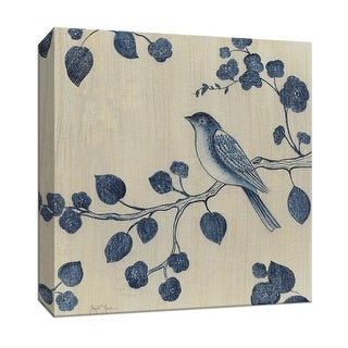 "PTM Images 9-147050  PTM Canvas Collection 12"" x 12"" - ""Bluebird II"" Giclee Birds Art Print on Canvas"