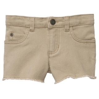Carter's Little Girls' Sweet Sunshine Stretch Twill Shorts 4k Tan