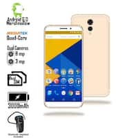 "GSM Unlocked 4G LTE 5.6"" SmartPhone by Indigi (QuadCore Processor @ 1.2GHz + Android 6 + Fingerprint)  + Bluetooth Headset"