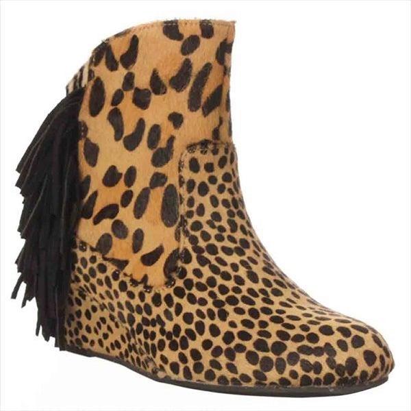 Falchi Madison Ankle Boots - Animal - 8.5