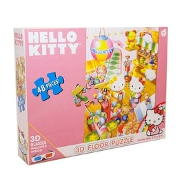 Hello Kitty 48 pc 3-D Floor Puzzle