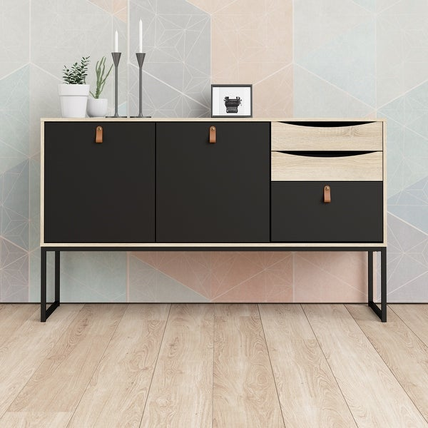 Carson Carrington Stubbe 2-Door Sideboard with 3-Drawers