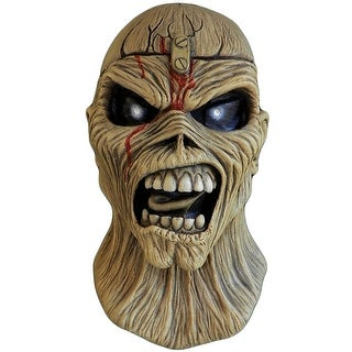 Iron Maiden Eddie Piece of Mind Adult Costume Mask - Beige