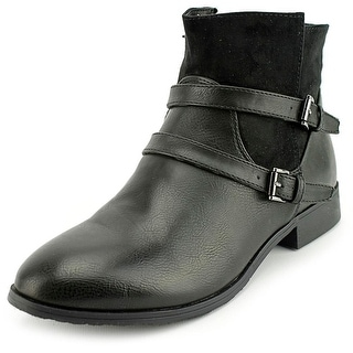 Chinese Laundry Fave Round Toe Synthetic Bootie