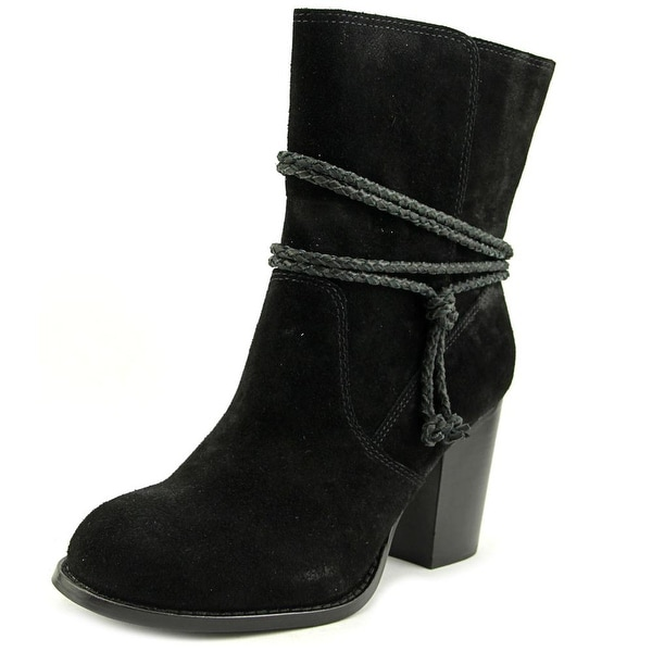 Splendid Larchmonte Women Round Toe Suede Ankle Boot