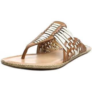 Dolce Vita Katrina Open Toe Leather Thong Sandal