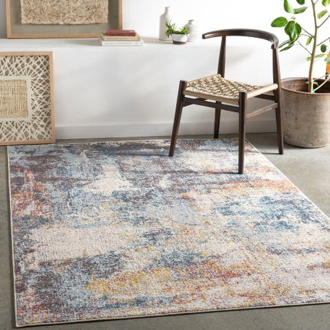 Ronny Abstract Industrial Area Rug