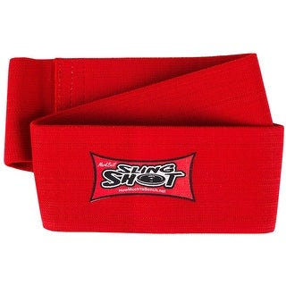 Sling Shot Hip Circle 2.0 Level 4 Elastic Weight Lifting Warm-Up Support - Red