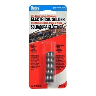 Oatey 53012 40/60 Rosin Core Wire Solder, 1 Oz