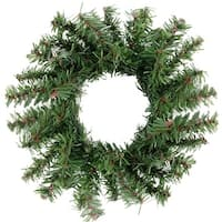 "5"" Mini Pine Artificial Christmas Wreath - Unlit - green"