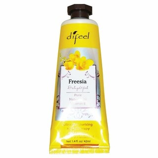 Difeel Hand Moisturizing Cream - 1.4Oz / 42Ml Squeeze Tube (Freesia) - freesia