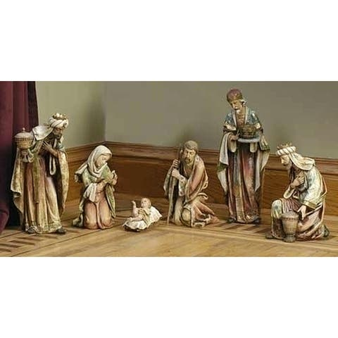 "20"" Joseph's Studio Religious Christmas Nativity Scene 6-Piece Set - N/A"