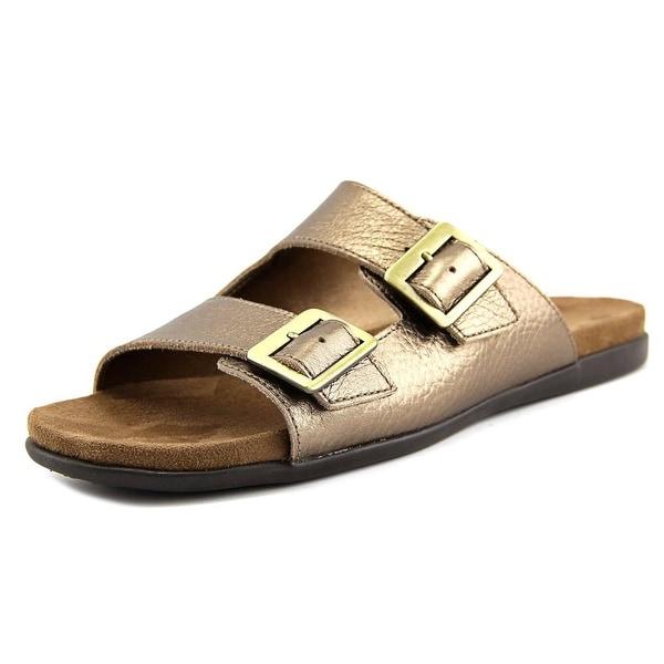Aerosoles Disco Music Women Open Toe Leather Slides Sandal