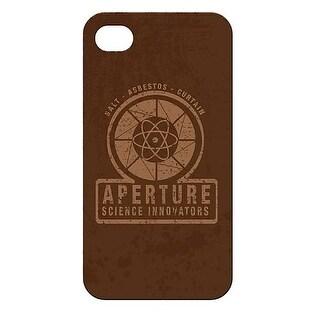Portal 2 For iPhone 4 40's Aperture Laboratories Case - multi