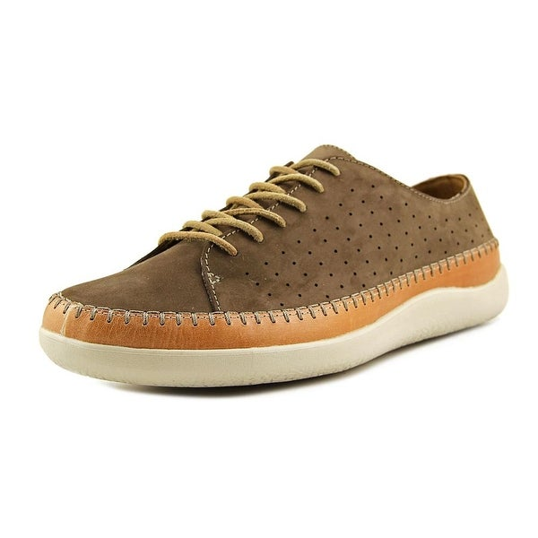 Clarks 1825 Veho Edge Men Leather Brown Fashion Sneakers