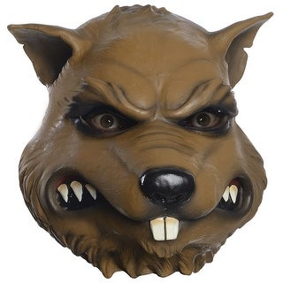 Adult Ninja Turtles Splinter Overhead Halloween Mask
