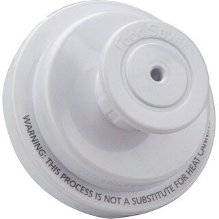 "FoodSaver T03-0006-02P Jar Sealer Regular Mouth, 2.5"" L x 3.9"" W, White"