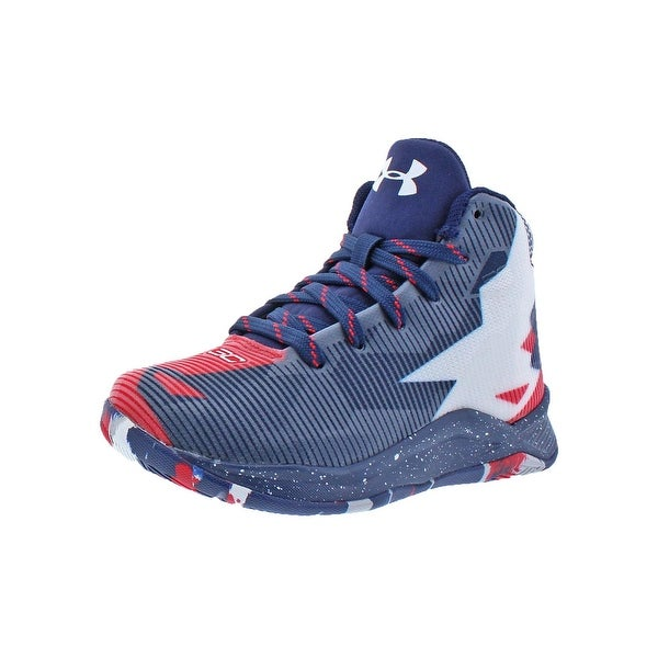 76e86181222f Under Armour Boys PS Curry 2.5 Basketball Shoes Colorblock High-Top - 10.5  medium (
