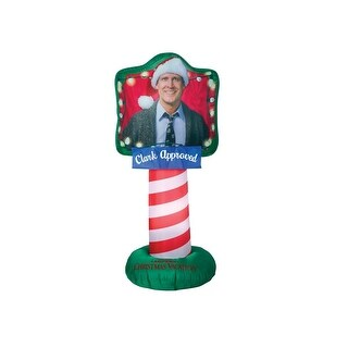 Gemmy 113211 Christmas Inflatable Airblown Clark, Fabric